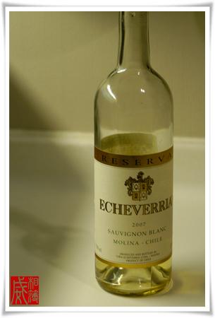 ♪♭ ECHEVERRIA Sauvignon Blanc 2007 ♪♭